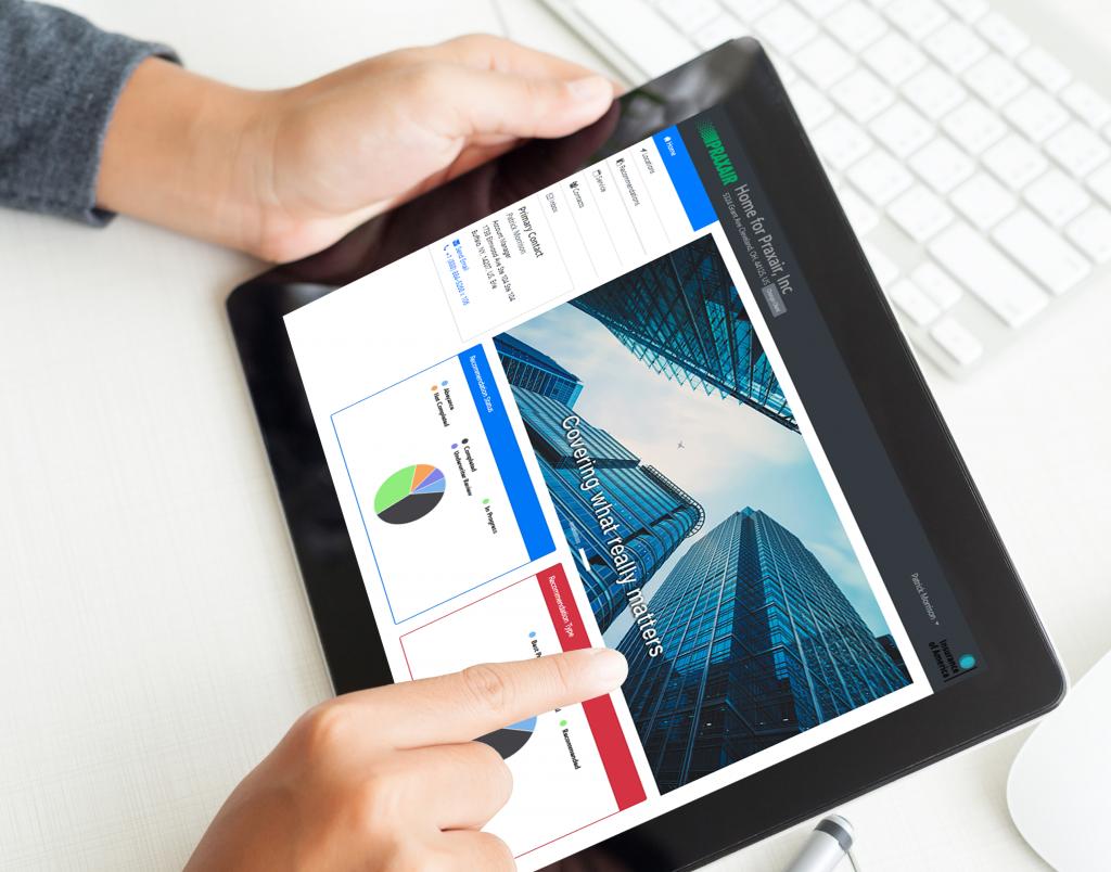 Client Portal Tablet